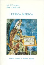 Book Cover: L'etica medica