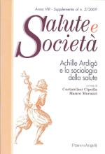 Book Cover: La sociologia della salute nell'orizzonte delle medical humanities