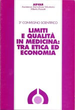 Book Cover: Limiti e qualità in medicina