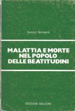 Book Cover: Malattia e morte nel popolo delle beatitudini