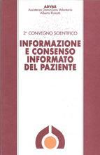 Book Cover: Informazione e consenso informato del paziente