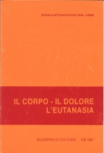 Book Cover: Dolore e dolorismo