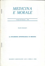 Book Cover: La riflessione antropologica in medicina