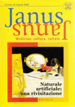 Book Cover: Janus 20 - Naturale artificiale: una rivisitazione