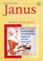 Book Cover: Janus 23 - Le professioni non mediche: figlie di un dio minore?